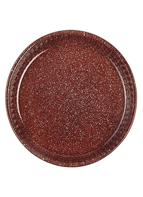 Paşabahçe Granit Borcam - Yuvarlak Koyu Gri - 32 Cm Kiremit